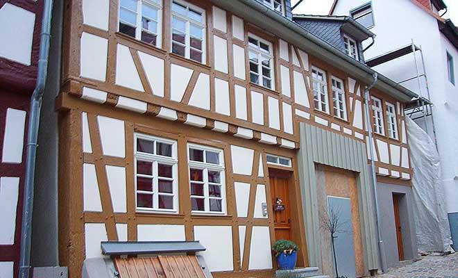 Sanierte Fachwerkhauser In Heppenheim Und Umgebung Gugenbergers